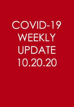 COVID-19 Weekly Update, October 20, 2020