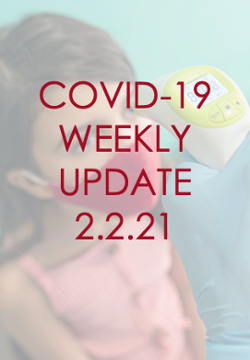 COVID-19 Weekly Update, March 2, 2021
